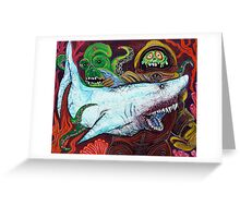 Creatures Of The Deep Greeting Card