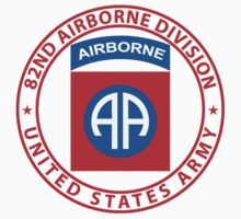 82nd Airborne Wings Kids Clothes