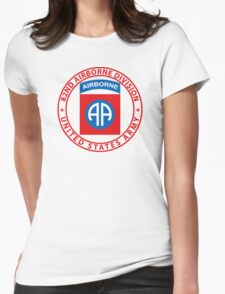 82nd Airborne Wings Womens Fitted T-Shirt