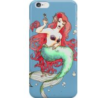 Mucha-esque Mermaid iPhone Case/Skin