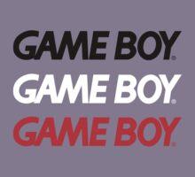 Triple GameBoy Logo by Hunter-Blaze
