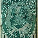1903 King Edward Stamp by DrBillCreations
