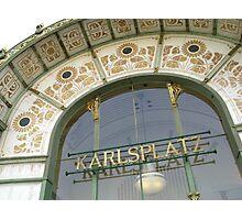 Karlsplatz Photographic Print