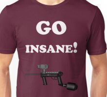 Paintball. Go Insane. WHI. Unisex T-Shirt