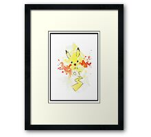 Pokemon - Pikachu  Framed Print