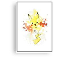 Pokemon - Pikachu  Canvas Print