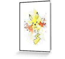 Pokemon - Pikachu  Greeting Card