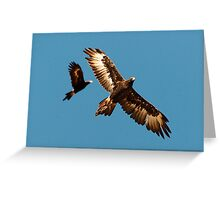 Duet In Motion Greeting Card
