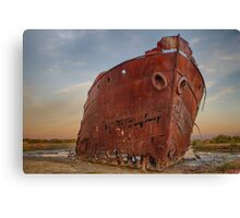 Excelsior Wreck Canvas Print