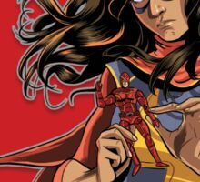 Ms. Marvel Kamala Khan - A Thing You Do Sticker