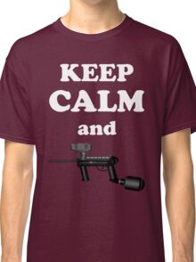Paintball. Keep Calm and Paintball 1. WHI. Classic T-Shirt