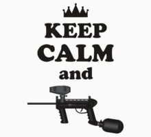 Paintball. Keep Calm and Paintball 2. BL. by DavidAtchley