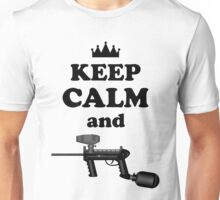 Paintball. Keep Calm and Paintball 2. BL. Unisex T-Shirt