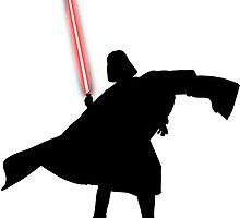 Darth Vader shadow style by SlyMan