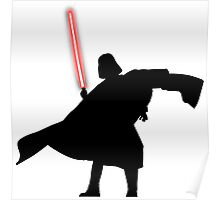 Darth Vader shadow style Poster
