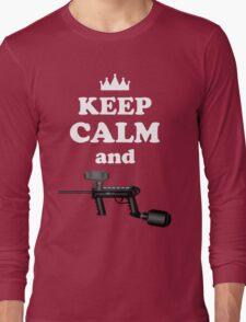 Paintball. Keep Calm and Paintball 2. WHI. Long Sleeve T-Shirt