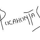 Pocahontas Autograph by schermer