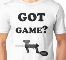 Paintball. Got Game? BL. Unisex T-Shirt