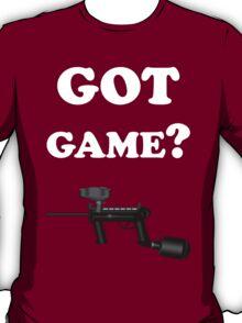 Paintball. Got Game? WHI. T-Shirt