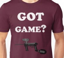 Paintball. Got Game? WHI. Unisex T-Shirt