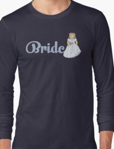 Teddy Bear Wedding - Bride Long Sleeve T-Shirt