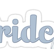 Teddy Bear Wedding - Bride Sticker