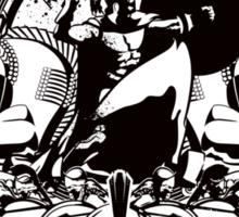 Spartan - Black Sticker