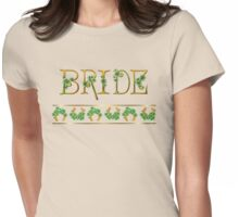Irish Shamrock Wedding - Bride Womens Fitted T-Shirt