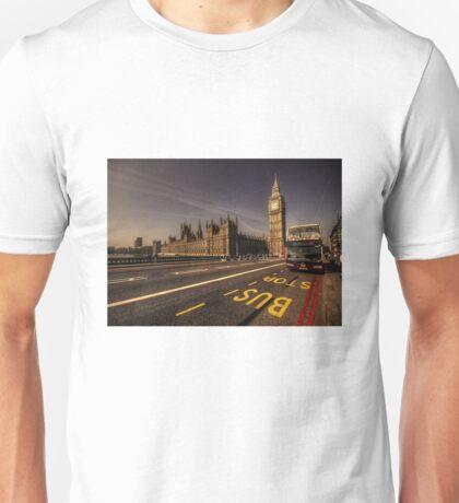 Westminster Bus Stop  Unisex T-Shirt