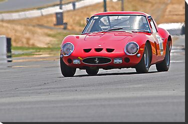 Vintage Ferrari Race Car  by DaveKoontz