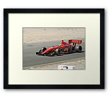 Indy Competition Framed Print