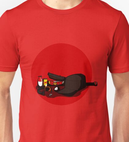 TF2 RED scout gear BLANK Unisex T-Shirt