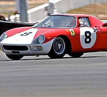 Vintage Race Car - Ferrari by DaveKoontz