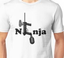 Paintball. Ninja. BL. Unisex T-Shirt
