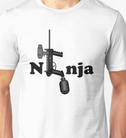 Paintball. Ninja. BL. Unisex T-Shirt