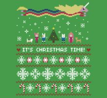 Adventure Time Ugly Christmas Sweater + Card by rydiachacha
