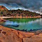 Mt Amos alight by Kip Nunn