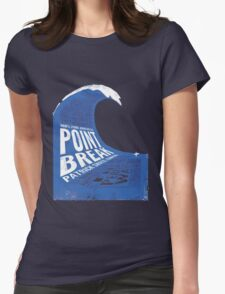 Point Break Movie Womens Fitted T-Shirt