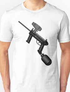 Paintball. Gun1 Left Hand Unisex T-Shirt