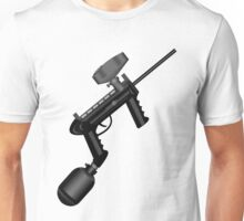 Paintball. Gun1 Right Hand Unisex T-Shirt