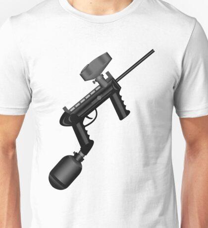 Paintball. Gun1 Right Hand Unisex T-Shirt