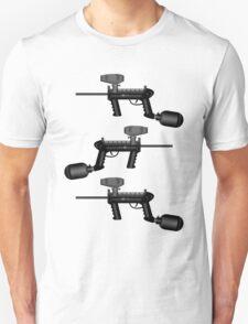 Paintball. Gun1 Left Hand2 Unisex T-Shirt