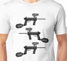 Paintball. Gun1 Right Hand2 Unisex T-Shirt