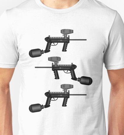 Paintball. Gun1 Right Hand2 Unisex T-Shirt
