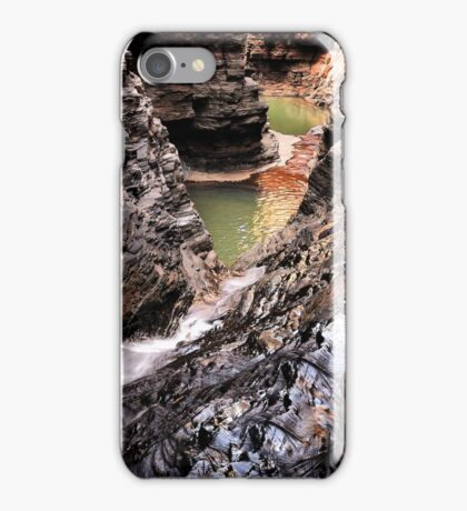 Spider walk, Hancock gorge iPhone Case/Skin