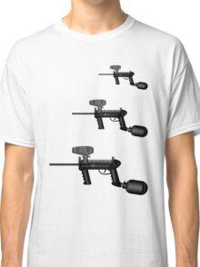 Paintball. Gun1 Left Hand4 Classic T-Shirt