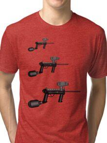 Paintball. Gun1 Right Hand4 Tri-blend T-Shirt