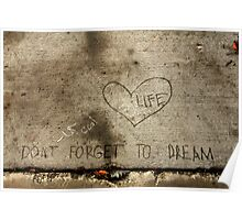 Don't Forget to Dream Poster