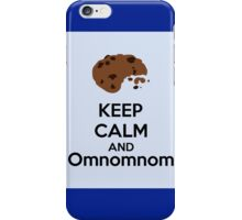 Keep Calm And Omnomnom iPhone Case/Skin