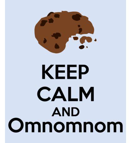 Keep Calm And Omnomnom Sticker